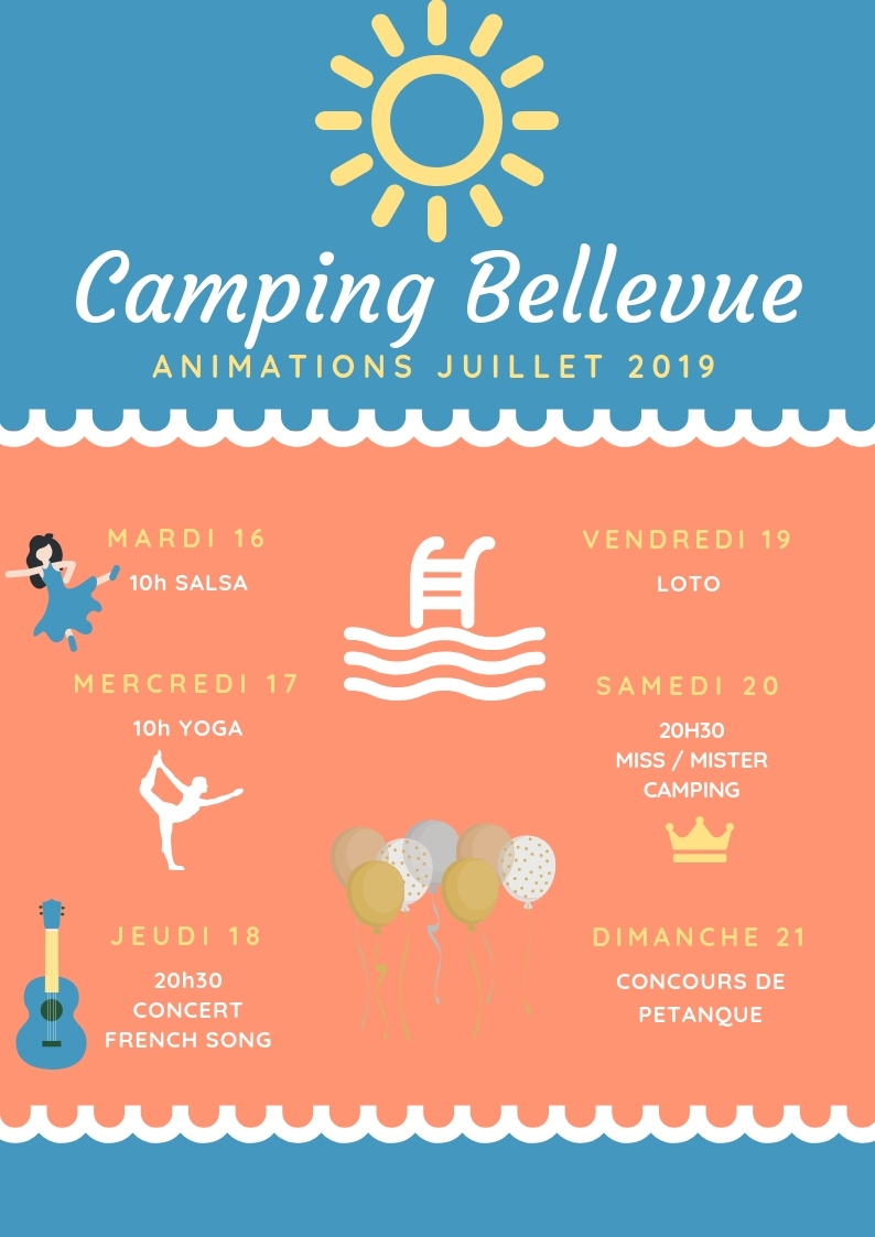 services animations camping bellevue deauville